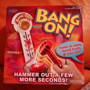 BANG ON GAME DRUMOND PARK NEW UNUSED GREAT GAME DAMAGED BOX CHRISTMAS FUN