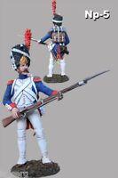 Toy Soldiers Painted Veteran Napoleon War 1/32 scale 54mm Tin Metal Figure
