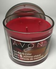 Avon HOT APPLE CIDER 3-Wick Candles New in Box