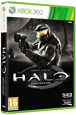 Halo Combat Evolved Anniversary Xbox 360 Brand New Factory Sealed