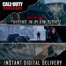 Call of Duty Hiding in Plain Sight  - Exclusive Vanguard Warzone Calling Card