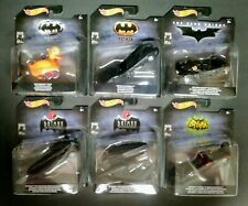 NEW Hot Wheels Batman 80th Anniversary 1:50 Scale Set of 6 Cars Animated Series