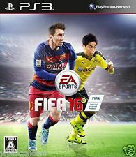 Used PS3 FIFA 16 SONY PLAYSTATION 3 JAPAN JAPANESE IMPORT