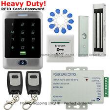Waterproof Rfid Card + Password Door Access Control System+Magnetic Lock+Remote