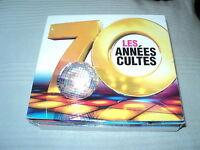 """COFFRET 6 CD """"LES ANNEES CULTE 70"""" 120 morceaux"""