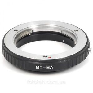 MD-MA Minolta MD MC Lens to Sony Alpha Minolta AF MA Adapter
