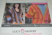 Short Row Venus Rising Cardigan Lucy Neatby Knitting Pattern  $12 retail