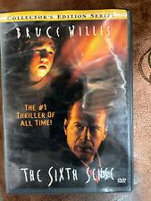 New The Sixth Sense Dvd 1999 6Th Sence The Movie Bruce Willis, Haley Joel Osment