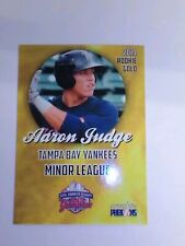 Aaron Judge 2014 Rookie Phenoms Gold Minor League Rookie Card Tampa Bay Yankees