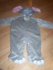 Infant Size 12-24 Months Safari Jungle Elephant Halloween Costume EUC