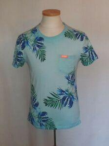 Superdry T-Shirt Herren Blau Pacific Surf Größe L