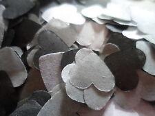 2000 Black/White/Grey Tissue Hearts/Wedding Confetti/Celebration/Decoration