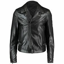 DIESEL BLACK GOLD Lorenzo Leather Jacket, IT 50 / UK 40 RRP £1565