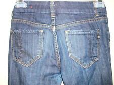 IT 's all about you Starlet girls jeans Dark blue crystals back pockets size 12