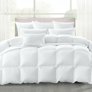 Luxury Quality Goose Feather & Down Duvet Quilts UK Bed All Sizes - 10.5 tog