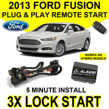 2013 Ford Fusion Remote Start Car Starter Plug & Play System Hybrid & Gas FO2F