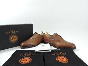 Church's Cheaney Mens Shoes Oxford Caps UK 7.5 F US 8.5 EU 41.5 F Minor Use