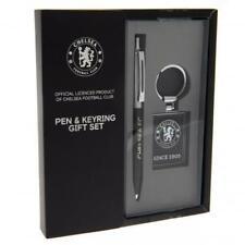 Chelsea F.C. Pen & Keyring Set CFC Gift for Him Valentines Birthday Present