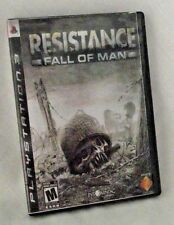Resistance Fall of Man Play Station 3 PS3 Video Game and Case Disc