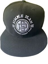 Simple Plan 15th Anniversary Hat New Bought At Warped Tour