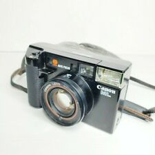 Canon Af35Ml 35mm Point & Shoot Film Camera w/ 40mm 1:1.9 Lens w/ Case - Tested