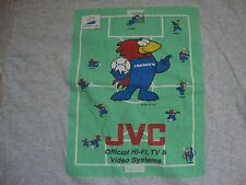 Vintage JVC Official Hi-Fi, TV & Video Systems World Cup Soccer T Shirt Size XL