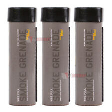 Enola Gaye WIRE PULL (Photo & Video) Smoke Grenades - Black Charcoal (3 Pack)