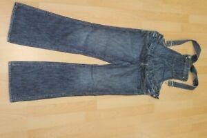 L3362 H&M Mama Latzhose Jeans S  blau  Sehr gut