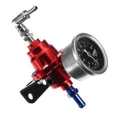 Adjustable Auto Car Fuel Pressure Regulator with kPa Oil Gauge Kit RD Exquisite
