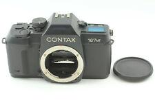 <Excellnet+5> CONTAX 167MT 35mm Film SLR camera Body from JAPAN #707 FedEx✈