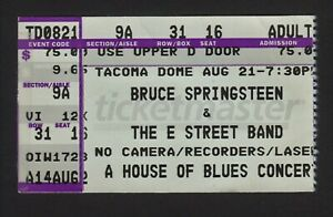 BRUCE SPRINGSTEEN Ticket Stub - The Rising Tour - Tacoma Dome - 2002