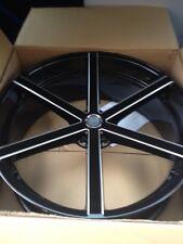 26 Inch U2-33B Wheels 6x6-5.5 Or 6x139.7 Black And Milled