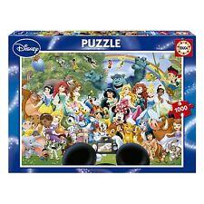 Educa 16297 The Marvellous World of Disney II 1000 pieces Disney Family Puzzle