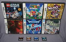 DS LOT: Super Mario 64, Lego Star Wars II, Wario, Nintendogs, Metroid, & More!