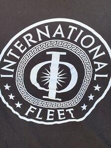 Ender's Game Women's Junior XXL T-shirt International Fleet