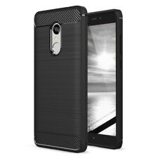 Schutzhülle für Xiaomi Redmi Note 4X Carbon Brush Tasche Cover Full TPU Slim