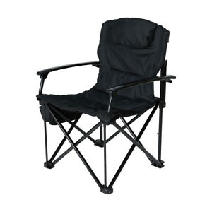 New DELUXE Hard Arm Chair (120kg LIMIT) Folding Portable Camping Picnic R3