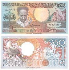 Suriname 250 Gulden 1988 P-134 Banknotes UNC