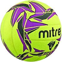 Mitre Cyclone Indoor Football Yellow/Black/Purple Size 5