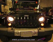 """TRIDON XT"" eyelid lid Eyebrow headlight cover liner fit Jeep Wrangler 2007-2013"
