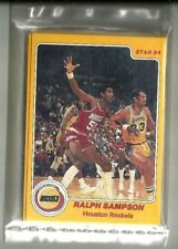 1983-84 Star Company Houston Rockets 12-card Factory Sealed Team Set  R Sampson