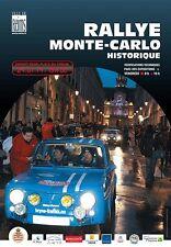 Carte postale Rallye Monté Carlo Historique 2014 départ de Reims Renault 8