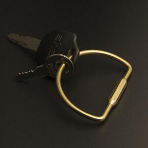Solid Brass Key Holder Screw Lock Key Organizer