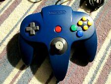 Original Nintendo 64 N64 Blue Controller 9/10 NUS-005 Original Stick