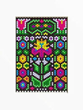 SUMMERTIME STAIN GLASS BEADED BANNER PDF PATTERN ONLY