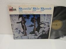 FERENC FRICSAY The Beautiful Blue Danube LP Decca Gold Label DL9852 VG+ Strauss