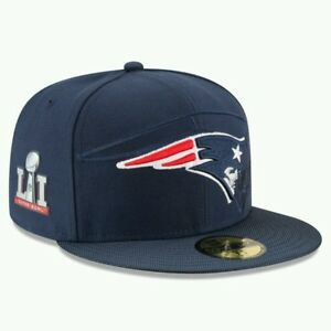 NFL New England Patriots New Era 59Fifty Fitted Hat Super Bowl Champions  7 1/2