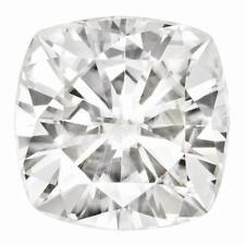 1 Cushion Cut Moissanite White Brilliant  6.5mm Diameter 1.20 tw Loose Stone