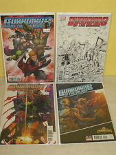 GUARDIANS of the GALAXY #15 - 4 Variant Set - SKETCH Games ANIMATION Story Thus