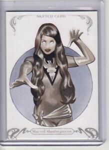 2018 MARVEL MASTERPIECES PHOENIX BY ARTIST CHARLIE CODY 1/1 Sketch Card UD WOW